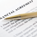 What is a financial agreement?