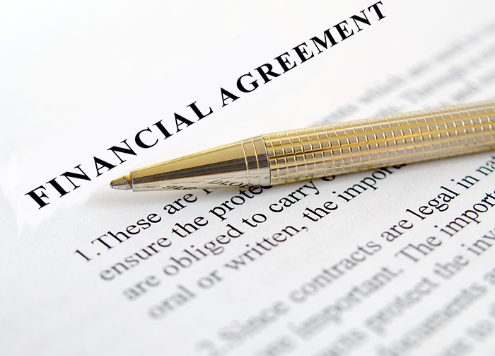What Is A Financial Agreement Peaceful Path To Settlement