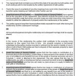 prenuptial agreement sample 2