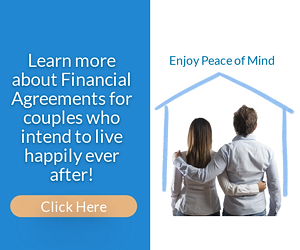 Financial agreements for couples who want to stay together