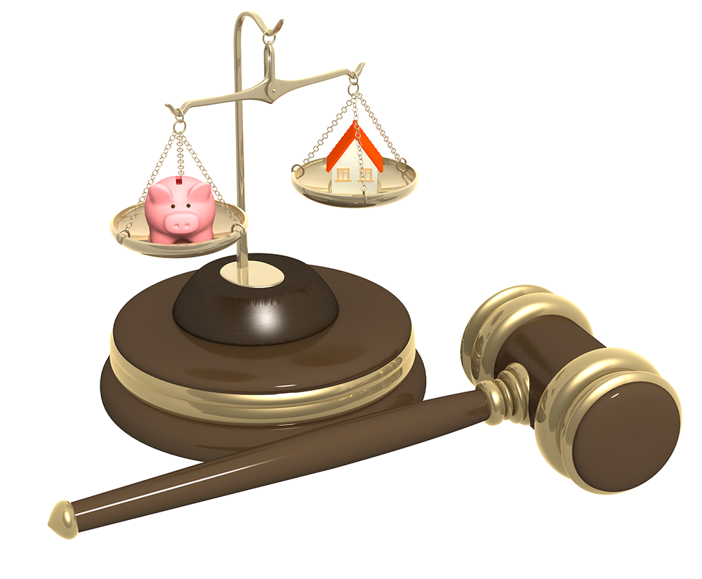 court weights initial contributions